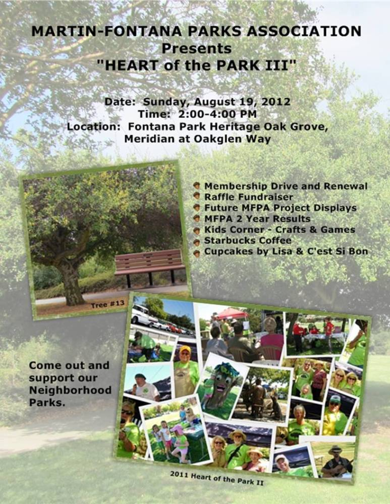 Today, Heart of the Park III, Come on out! (1/2)