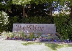 Villas Sign