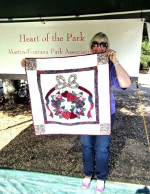Winner of Amish quilt