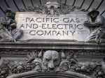 PG&E building sign