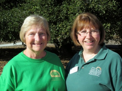 Organizers Linda Wilson & Mollie Tobias