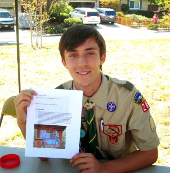 Scout Joshua Harbman