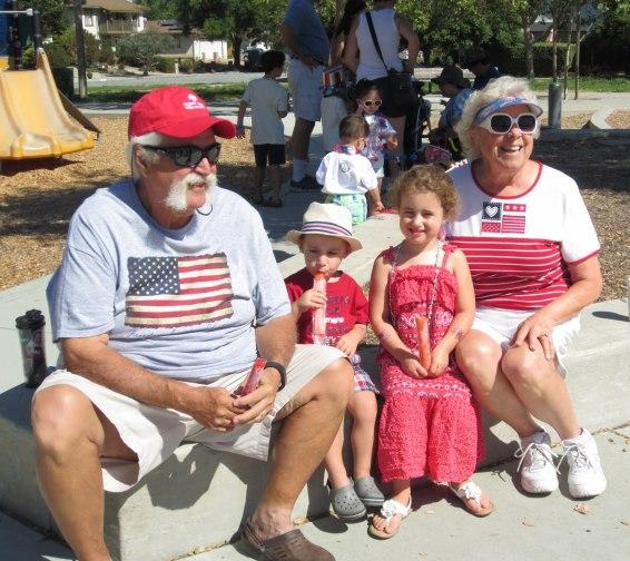 A very patriotic family!