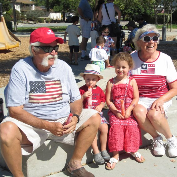 A very patriotic family!