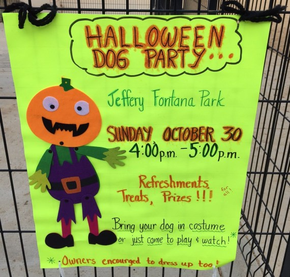 Halloween Dog Party