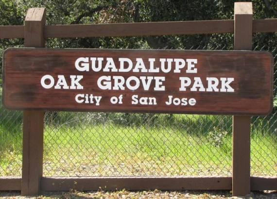 Guadalupe Oak Grove Park sign (1)