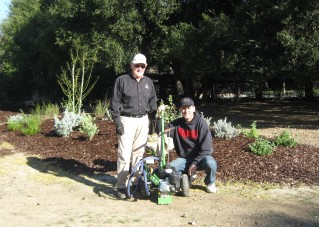 Gopher Eradication Team Volunteers Rich Grialou & Robert Braunstein