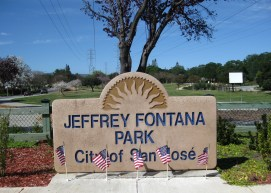 Jeffrey Fontana Park sign